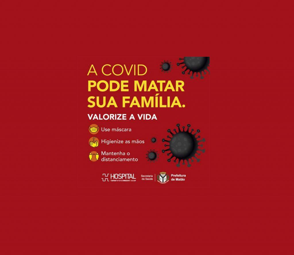 Hospital de Matão intensifica a campanha contra a COVID-19